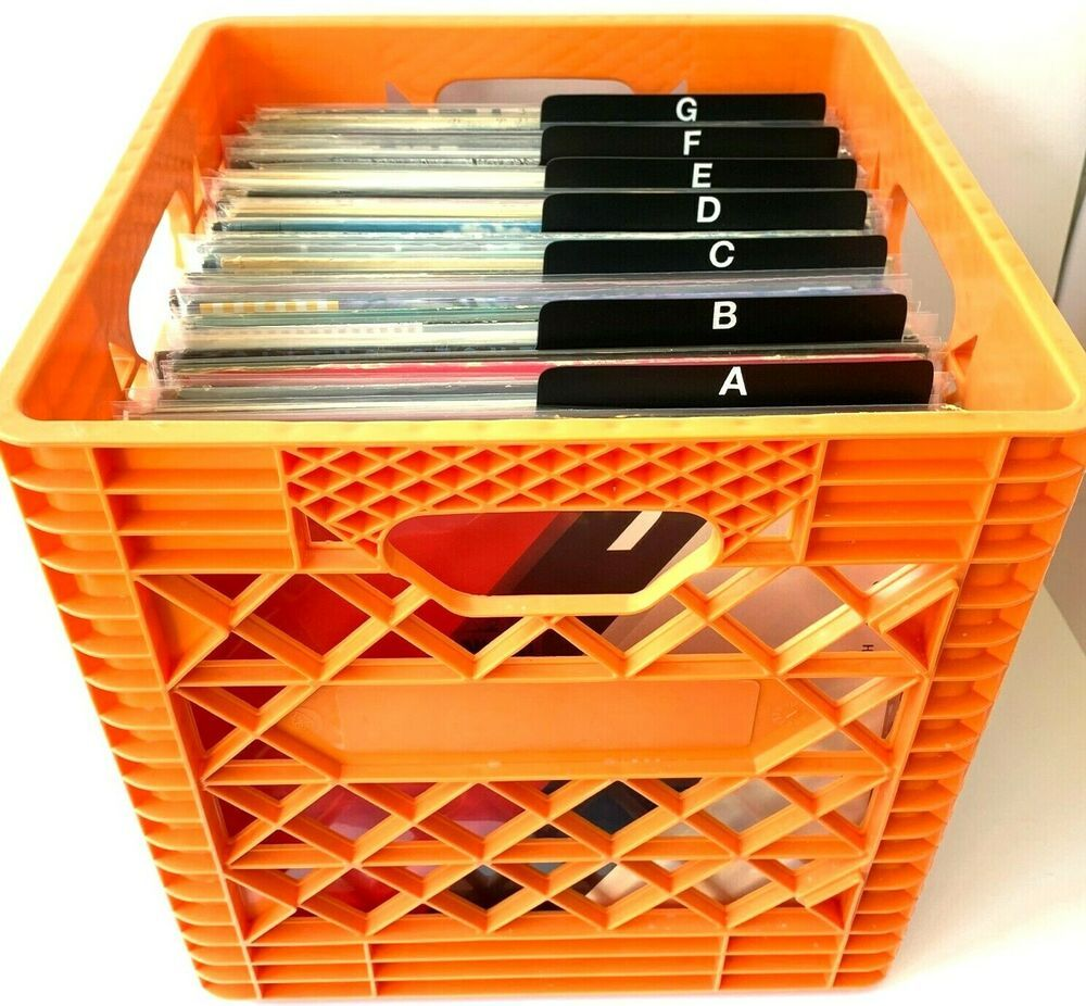 A Z Alphabetical Record Dividers Screen Printed 12 33s Lp Vinyl Album A To Z Plastic Capitolcollectibles Com Sto With Images Vinyl Records Record Dividers Divider Screen