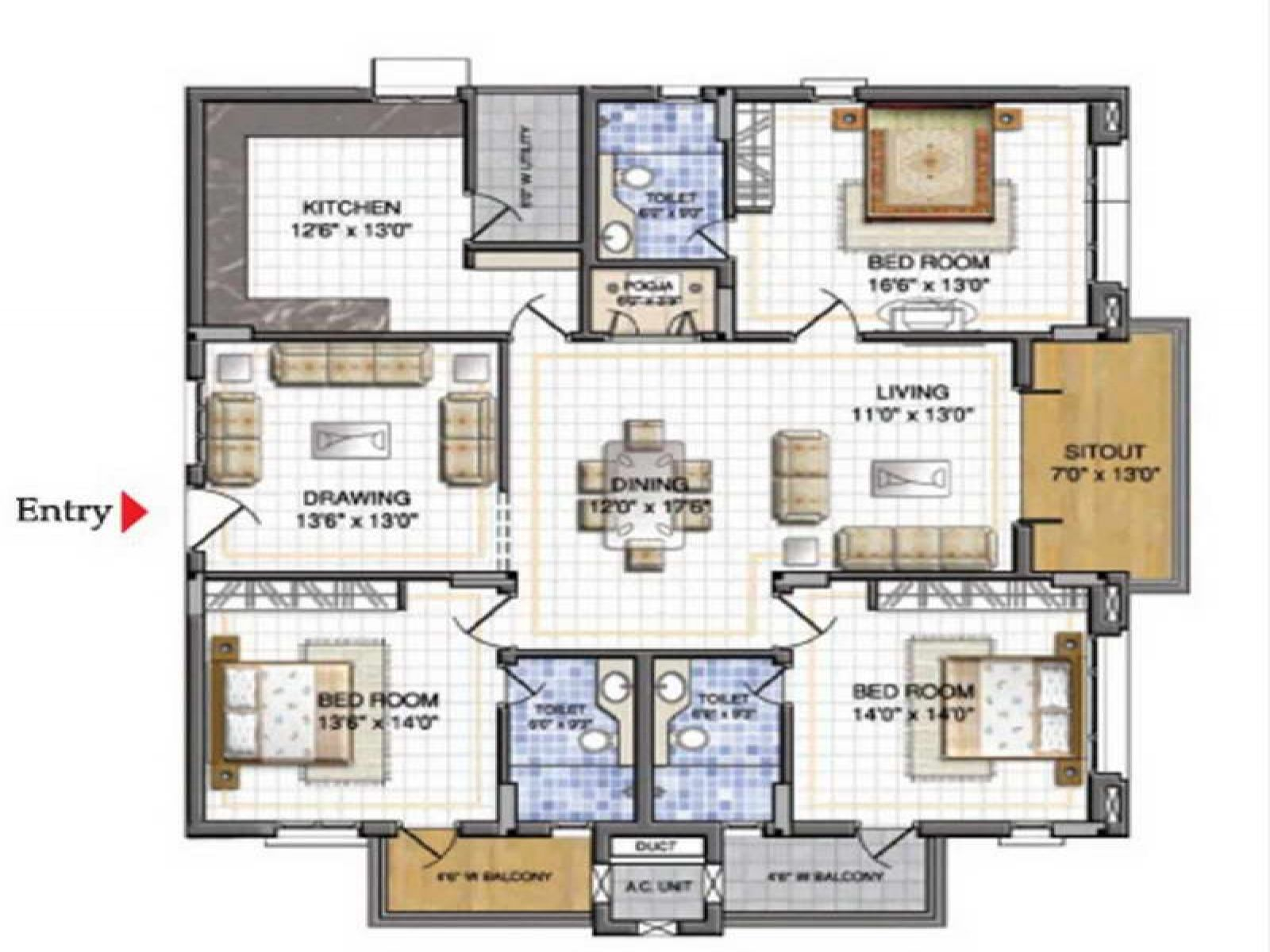 17 best 1000 images about home on pinterest house plans bedroom - House Plans And Designs