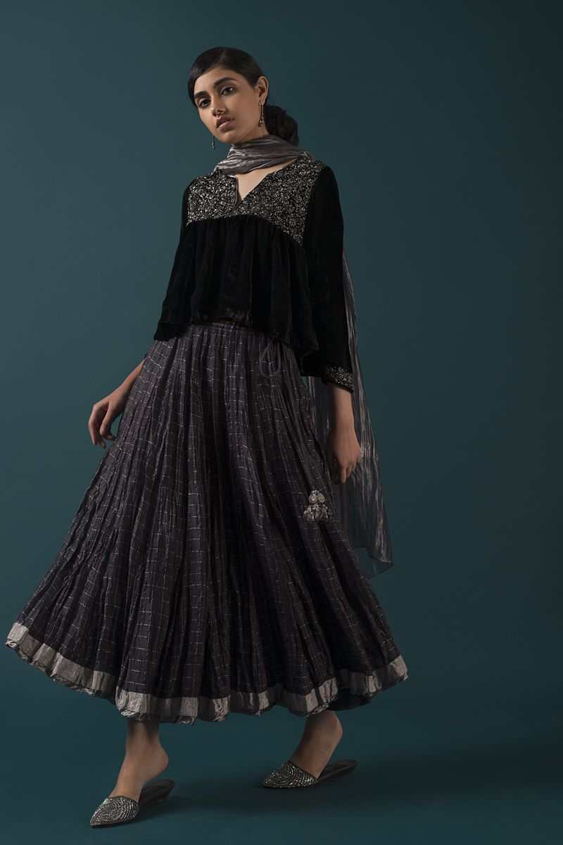 Shazia a festive collection of evening styles with intricate zardozi