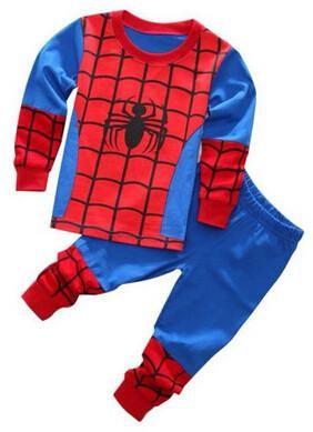 949e42b125cbb 2-7years kid Sleepwear!New Spider-man Iron man Pajamas Kids ...