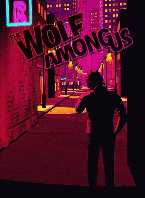 The Wolf Among Us Wallpaper Wallpapersafari The Wolf Among Us Opening Credits Big Bad Wolf