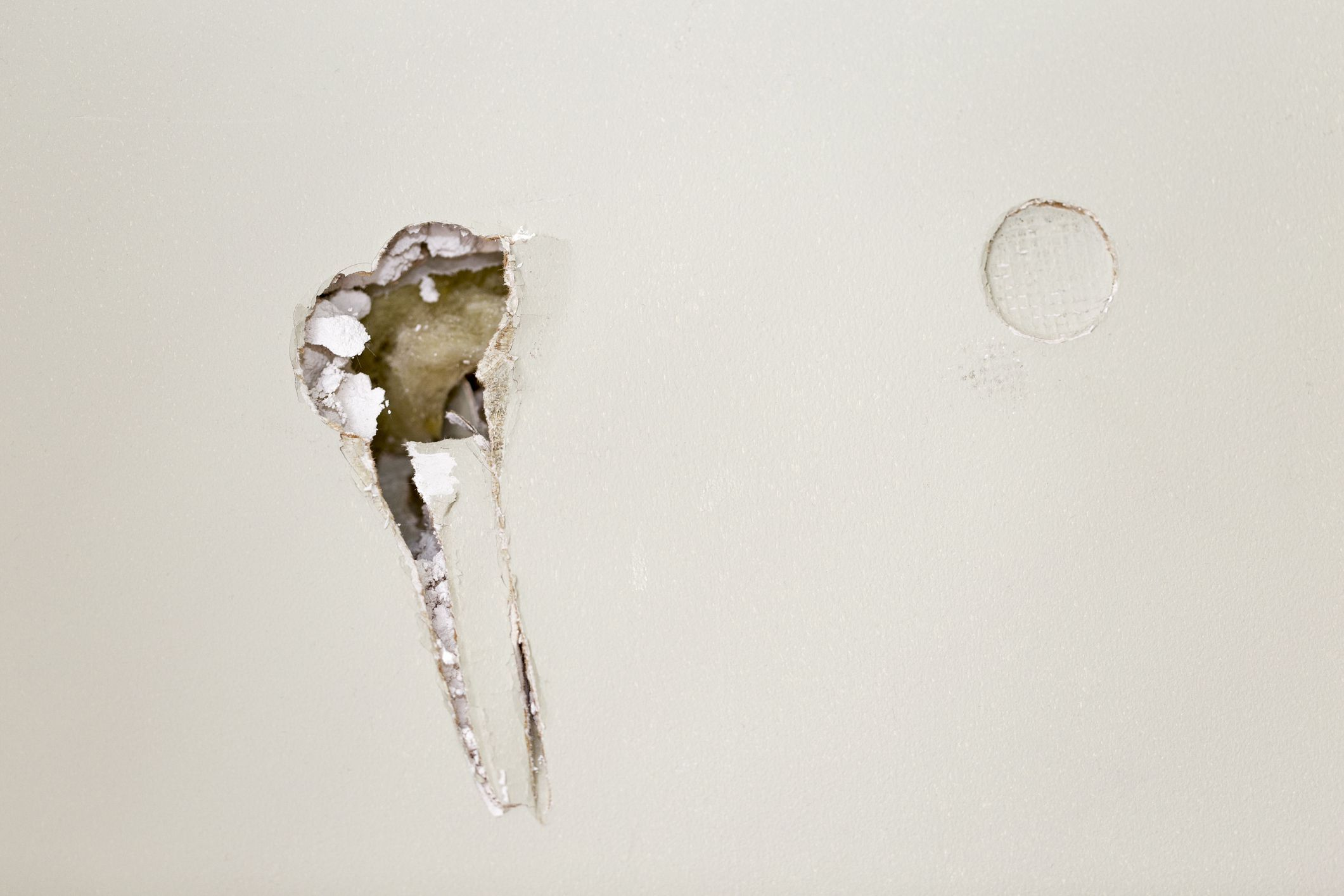 Learn How to Fix Small Holes in Drywall  Fixing drywall holes