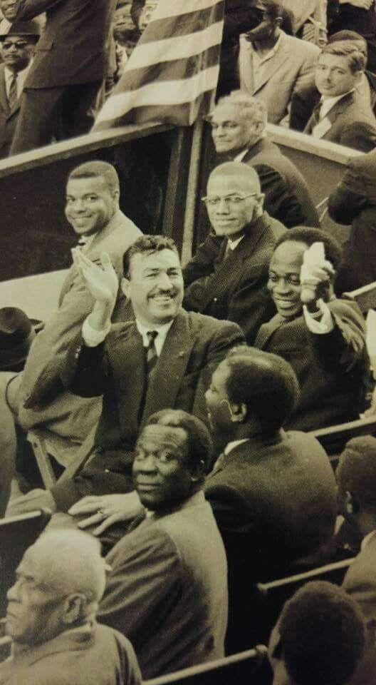 Adam Clayton Powell and Malcolm X