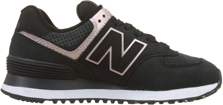 New Balance Damen 574v2 Sneaker, Schwarz (Black/Champagne ...
