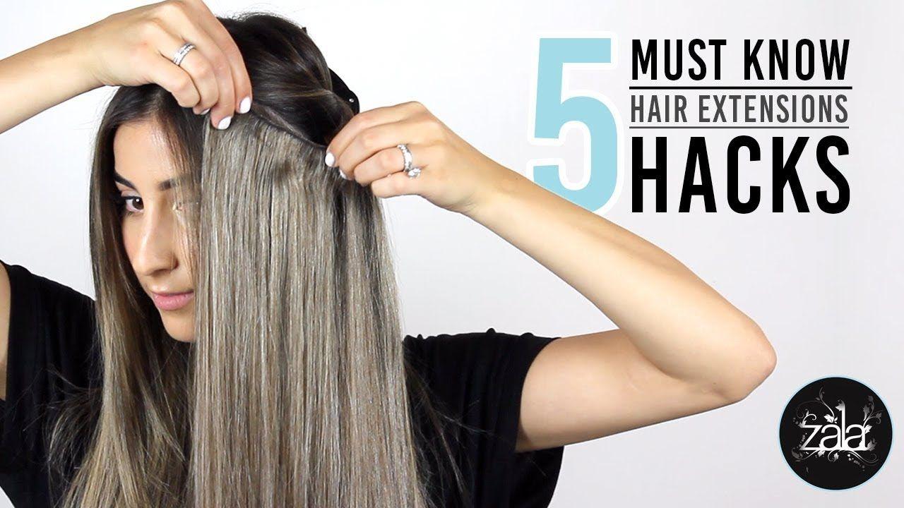 5 hair extension hacks for perfect blending zala hair