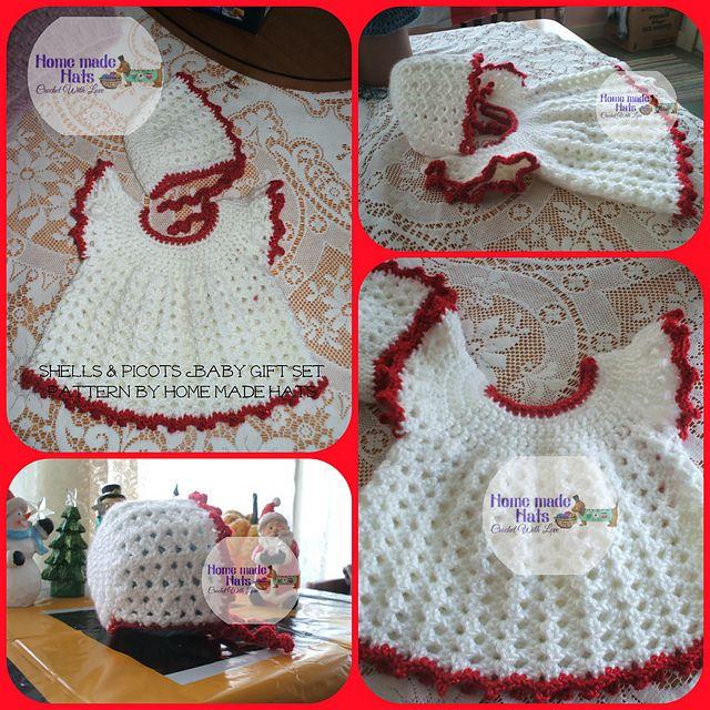 Ravelry: Shells & Picots Baby Dress pattern by Cheryl Frye | bebitas ...