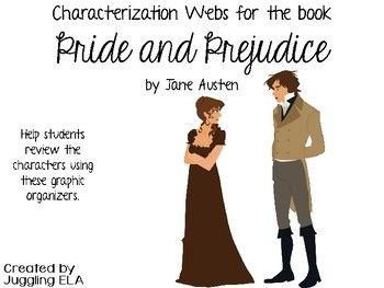 characterization of pride and prejudice