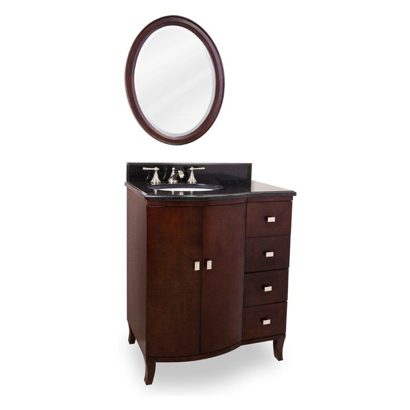 Have To Have Itlyn Design 30Inmahogany Modern Single Bathroom Interesting 30 Bathroom Vanity With Drawers Review