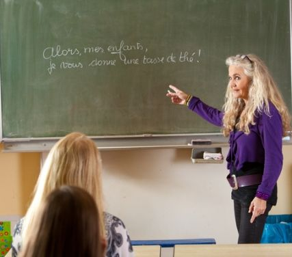 french teacher; © Simone Van Den Berg | Dreamstime.com