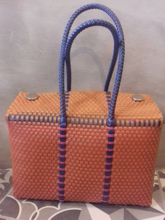 Handcrafted bags from Mexico, hand-woven  Handwoven bags made with