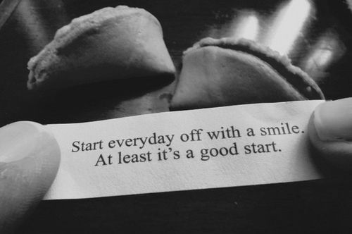 Start everyday off with a smile life quotes quotes quote smile life inspirational motivational life lessons