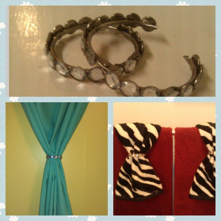Use Shower Curtain Rings As Towel Or These Diamond Ones Are Shabby Chic From Target