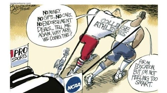 Student Athlete Compensation | Should NCAA| Should NCAA athletes receive compensation? Description from jairbolden.wordpress.com. I searched for this on bing.com/images
