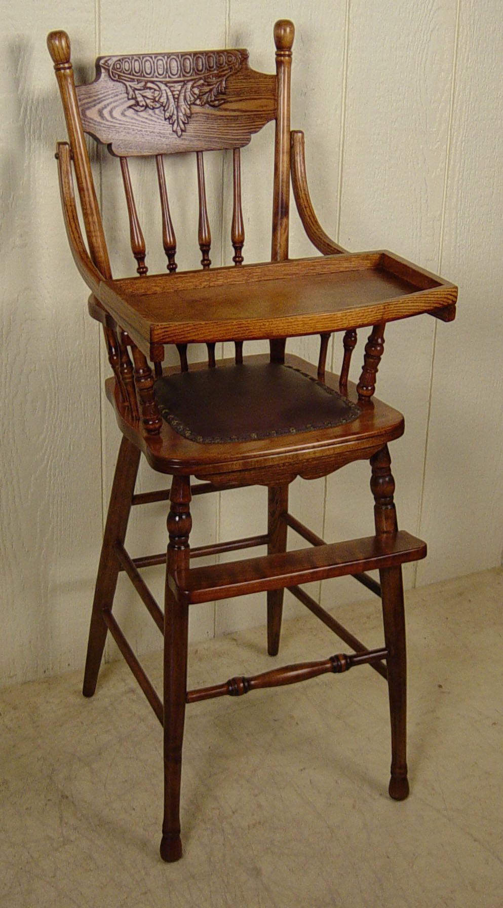 Childs high chair with images antique high chairs