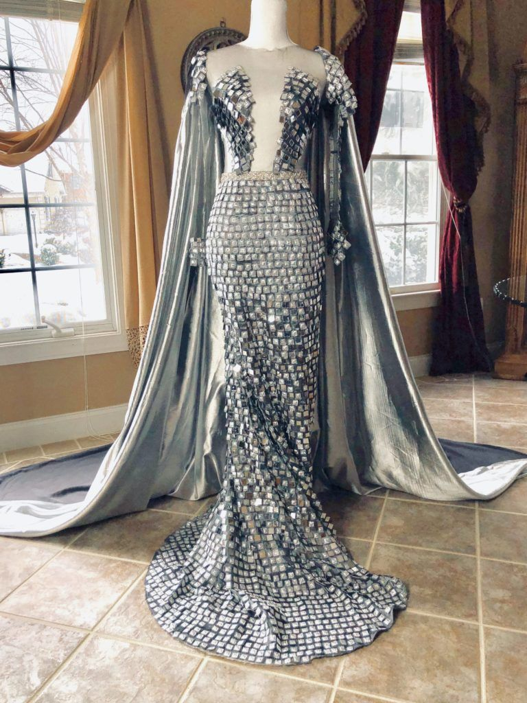 Game Of Thrones A Gown Fit For A Dragon Queen Game Of Thrones