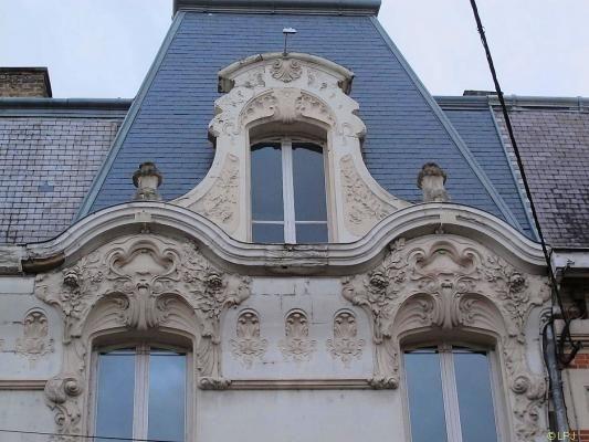 Maison Cauras Art Nouveau 3 A Chalons En Champagne 51 51000 Http Bit Ly Wwkkps Maison Art Nouveau Champagne