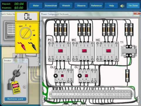 Diagram How To Do Electrical Troubleshooting Of Motor Control Circuit