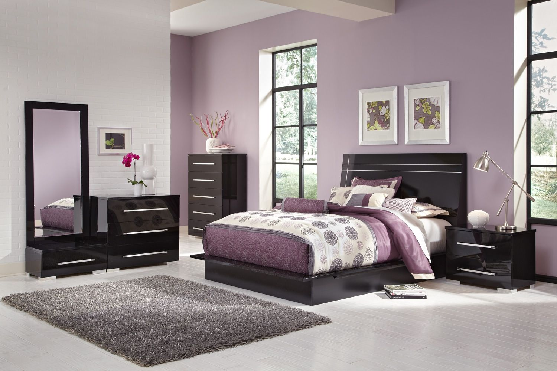 Best Bedroom Furniture Dimora Black Ii 7 Pc King Bedroom 400 x 300