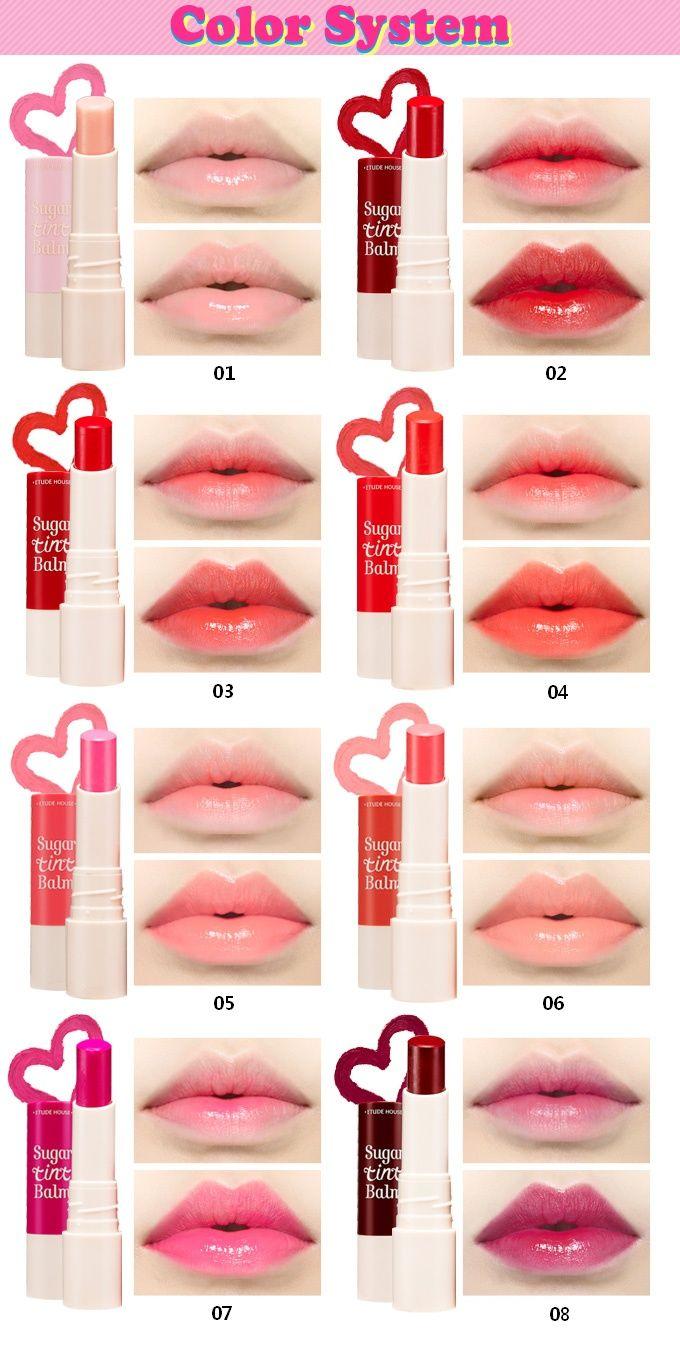 [ETUDE HOUSE] Sugar Tint Balm 4g Korean makeup tips