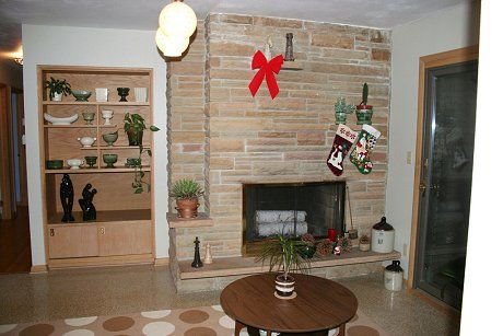 Mid Century Modern Fireplaces chris and angela's 1964 mid-century modern ranch - 18 photos