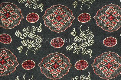 Dragon & Flower Fabric