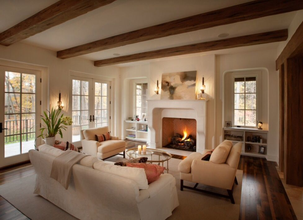Cozy Yet Elegant; The Beams Are Exquisite #relaxing