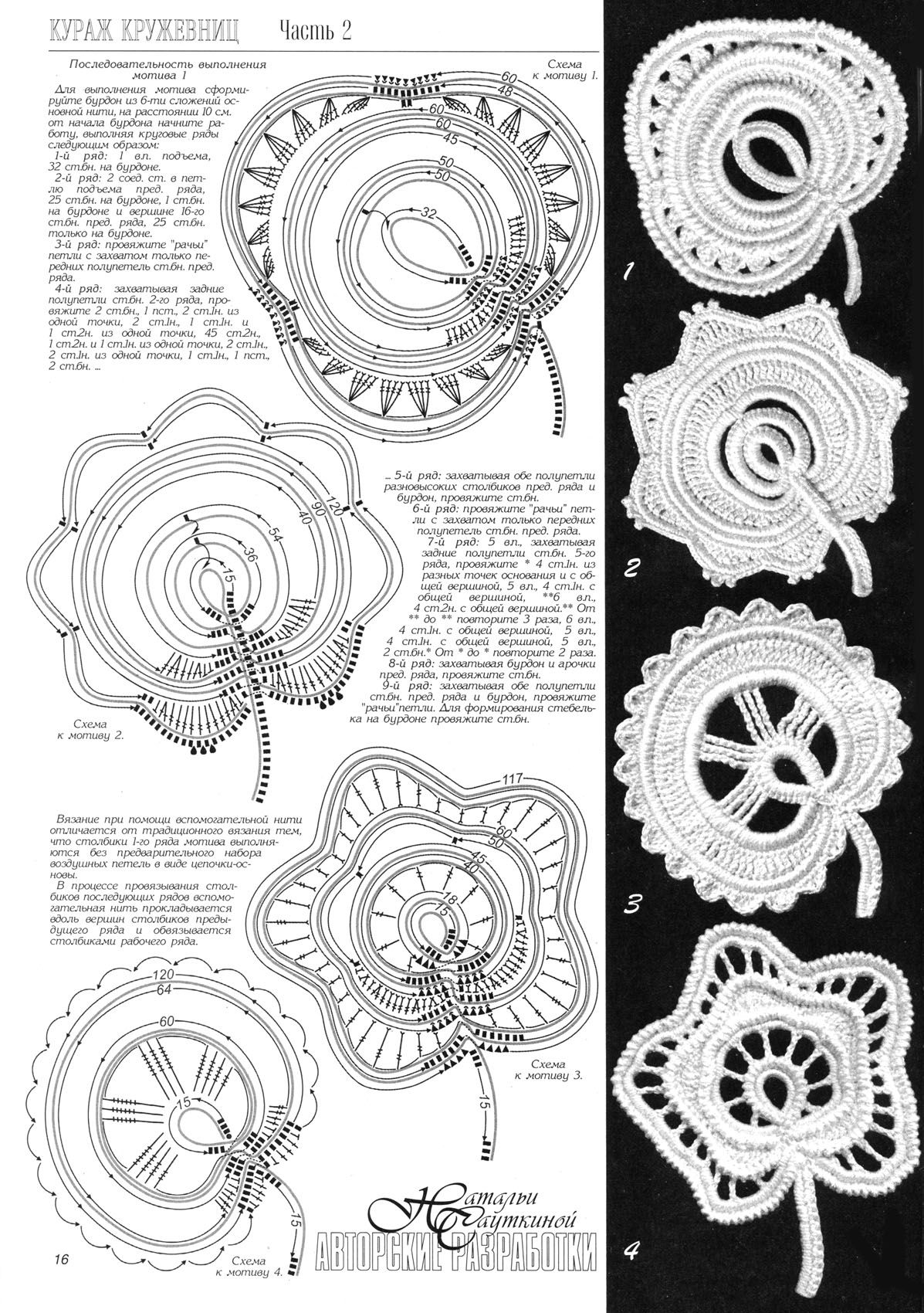 interesting russian diagram | crochet lace | Pinterest | Crochet ...