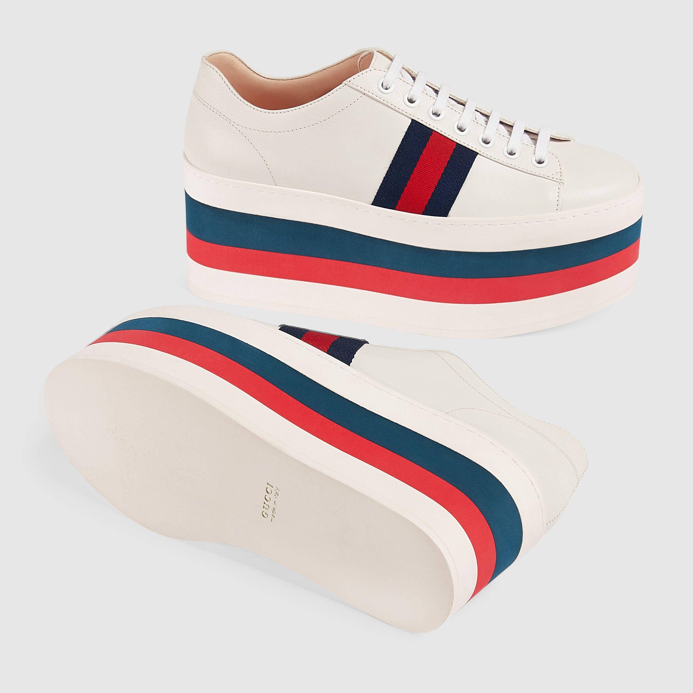 Chaussures De Sport Pour Les Femmes En Vente, Blanc Cassé, Cuir, 2017, 35 35,5 Fendi