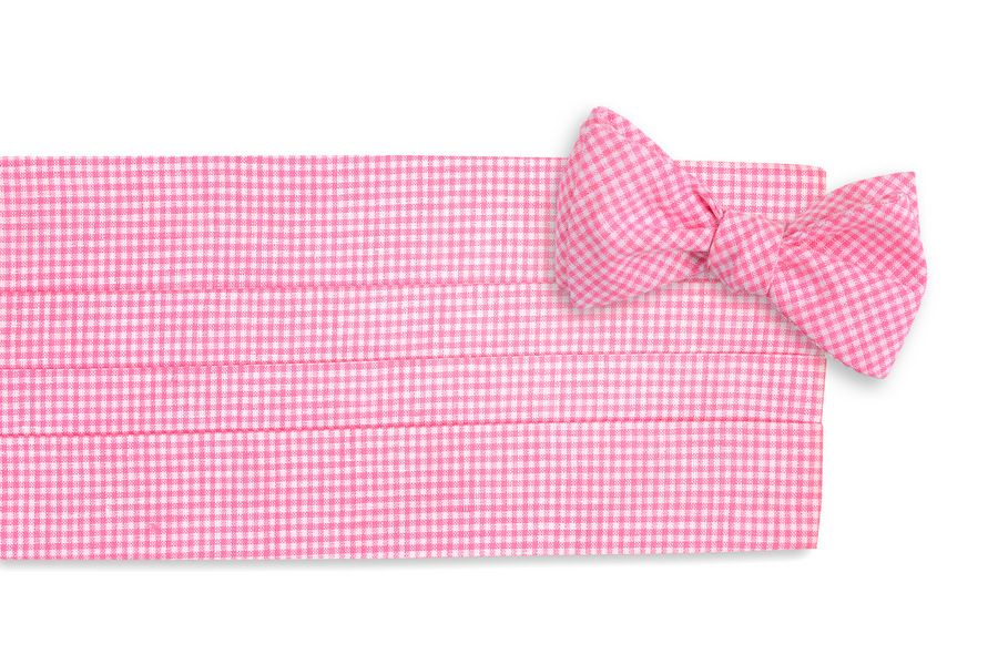 399164ed618a High Cotton | Watermelon Linen Gingham Cummerbund Set | Spring 2015 ...