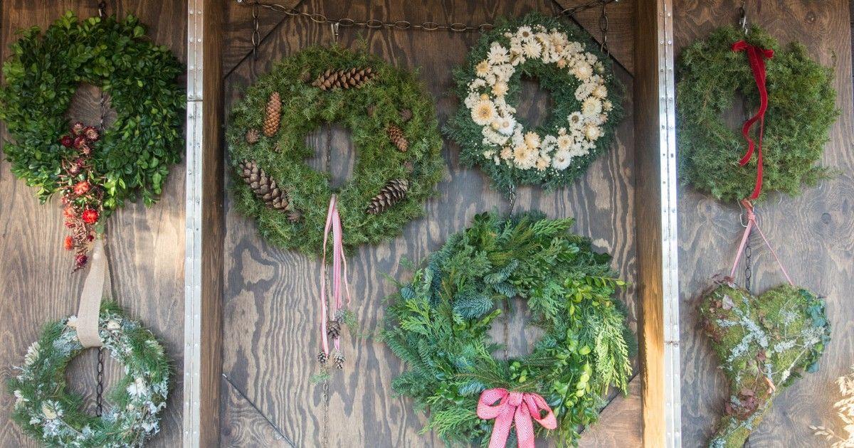 Inspirasjon fra Blomsterhagens julemarked!
