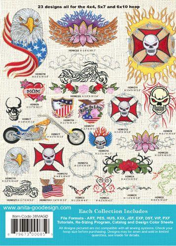 Anita Goodesign | American Biker - Anita Goodesign