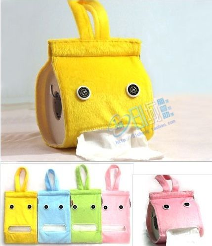 No instructions for this TP holder but I think I could be inspired by the pictures.  Cute idea.