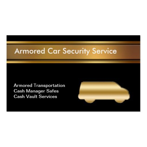 Armored Car Business Cards Pinterest Armored car, Business cards