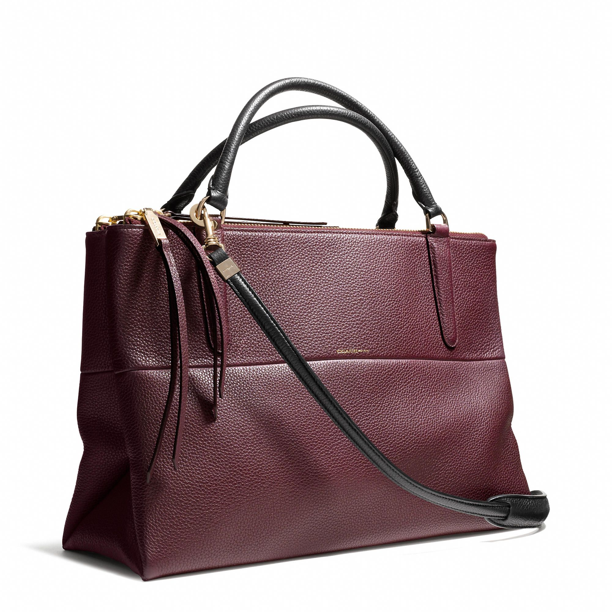 f8bb686b1647 Coach :: THE BOROUGH BAG IN PEBBLED LEATHER | (HANDBAGS) It Bags ...