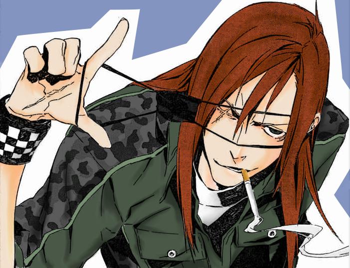 manga_coloring__badou_nails_by_GaaraPwnsSasuke Anime