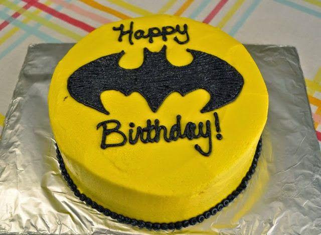 Batman Birthday Cake Cakes Batman Pinterest Batman birthday