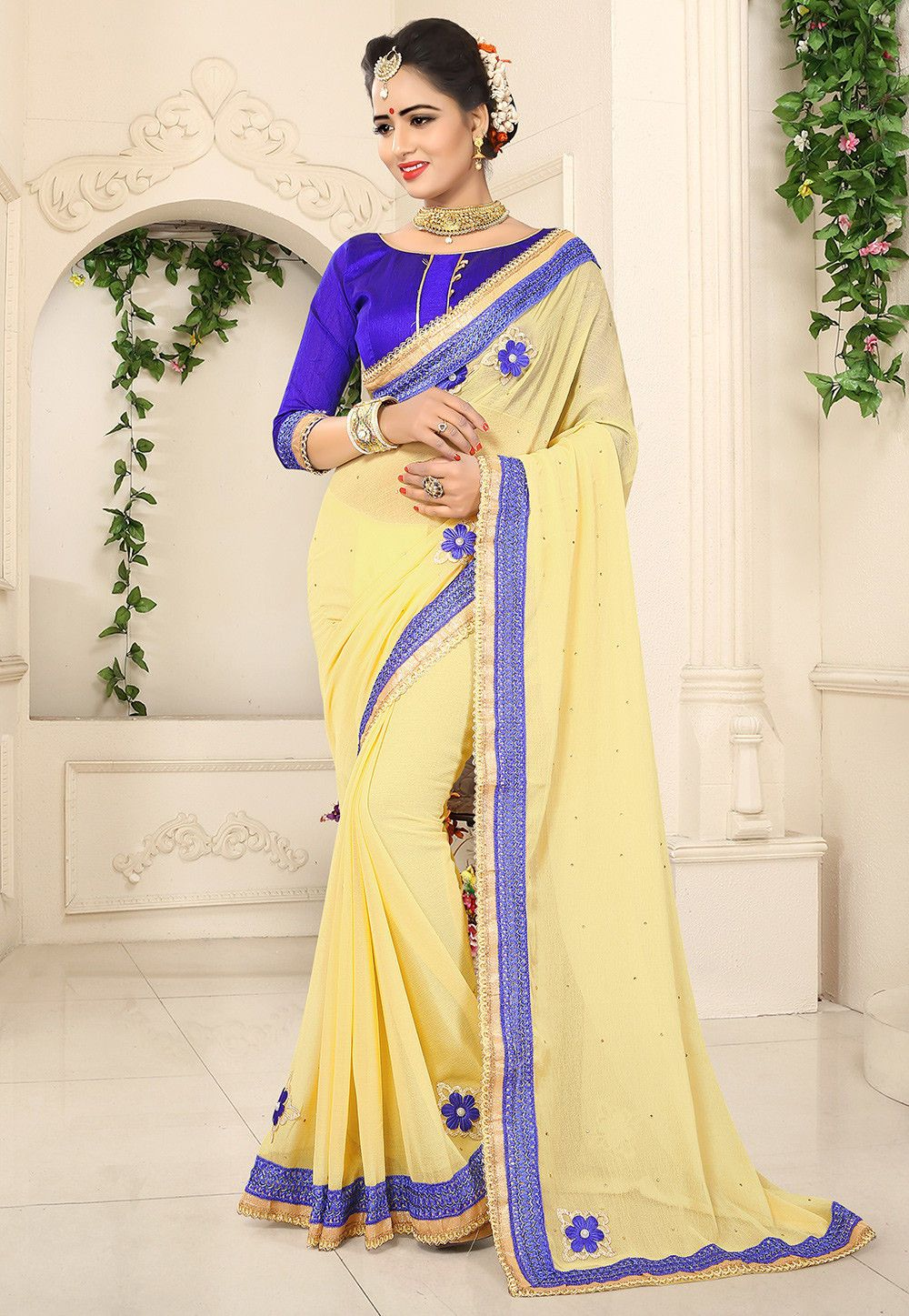 Light Yellow Silk Blouse Anlis