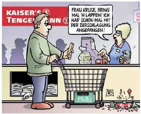 So hätte es werden können - EULENSPIEGEL - DAS SATIREMAGAZIN  #Tengelmann #Edeka #Zerschlagung #lustig #Eulenspiegel