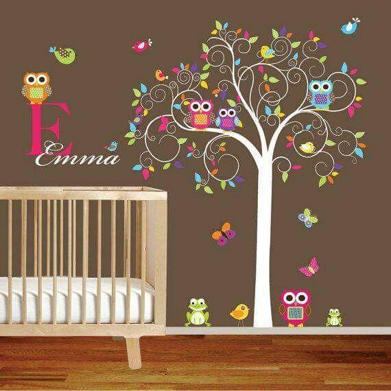 Chambre d\'enfant hibou | Baby | Pinterest | Chambres, Enfants et ...