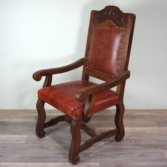 Spanish Leather Dining Chairs Leather Dining Chairs Spanish Style Furniture Spanish Furniture