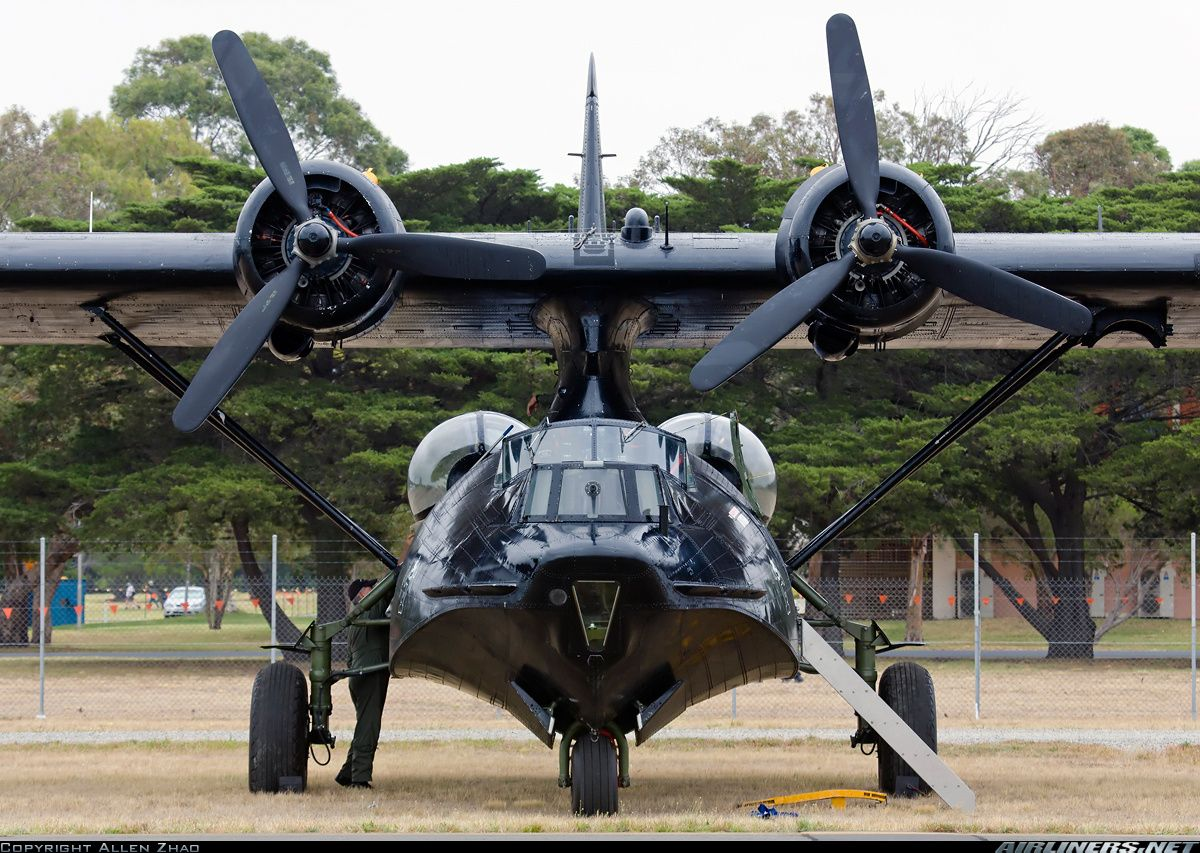 Consolidated PBY6A Catalina (28) VHPBZ / A24362/OXV