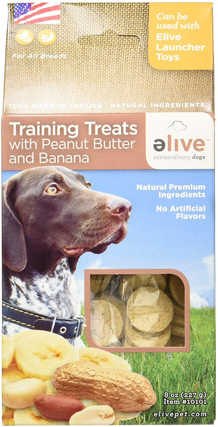 Elive Dog Training Treats Peanut Butter And Banana Delicious