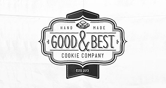 Good Best Cookie Company Logo Design The Design Inspiration Company Logo Design Branding Design Logo Logo Design