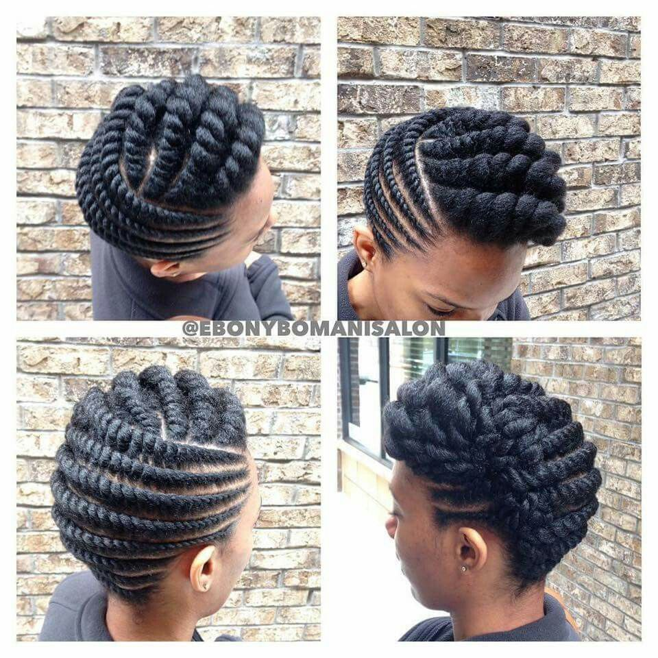 Kinkycurly Relaxed Extensions Board Flat Twist Hairstyles Natural Hair Twists Twist Hairstyles