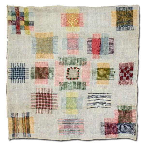 antique #dutch #darning #sample #textiles   rugs   Pinterest ...
