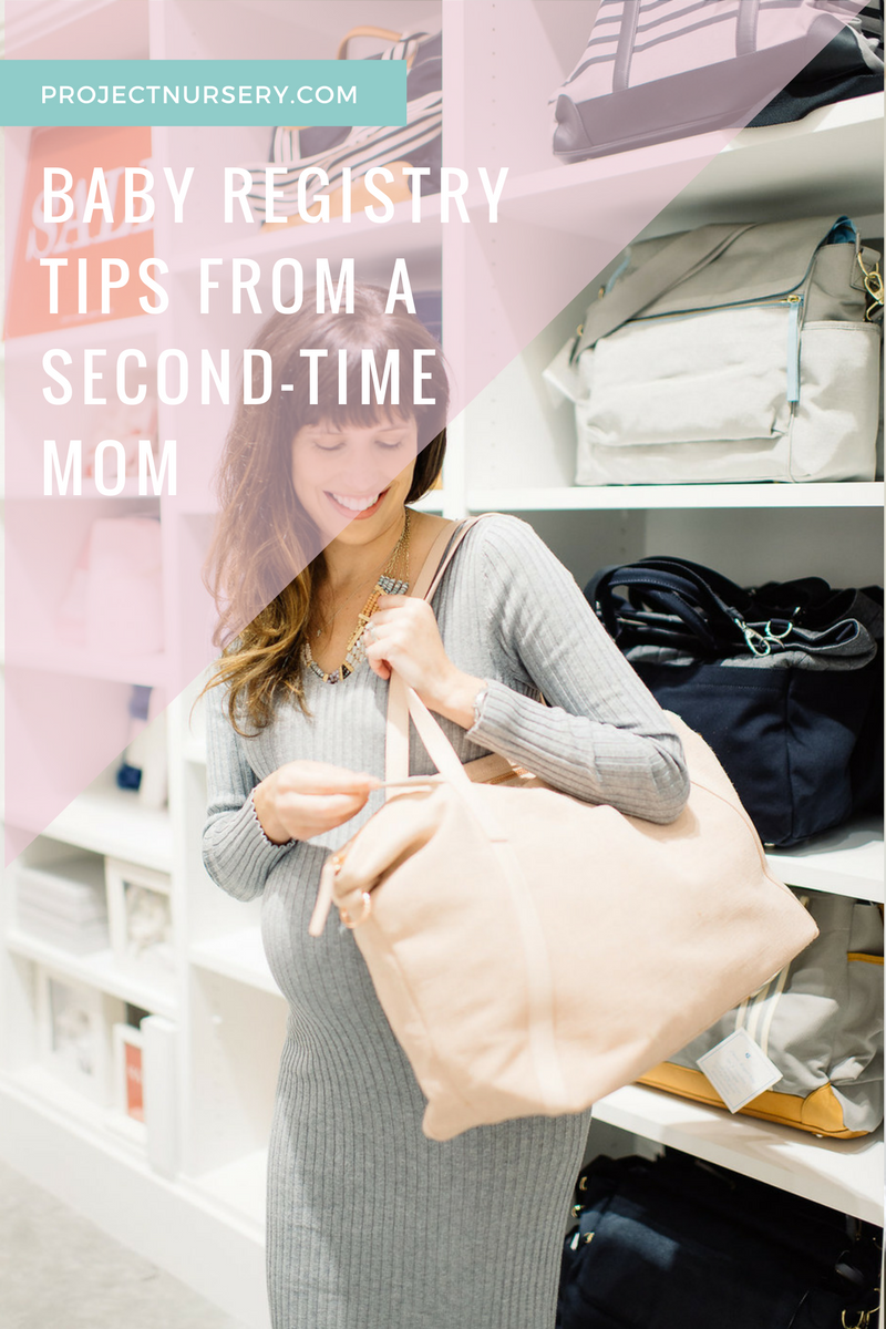 Baby Registry Tips from a Second-Time Mom - Project Nursery