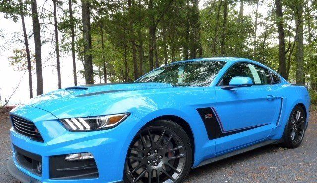 2017 Ford Mustang Roush Stage 3 In Grabber Blue 70211 Ford Mustang Roush 2017 Ford Mustang Mustang