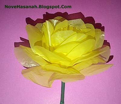 12 Tutorial Cara Membuat Prakarya Bunga Dari Barang Bekas Dengan