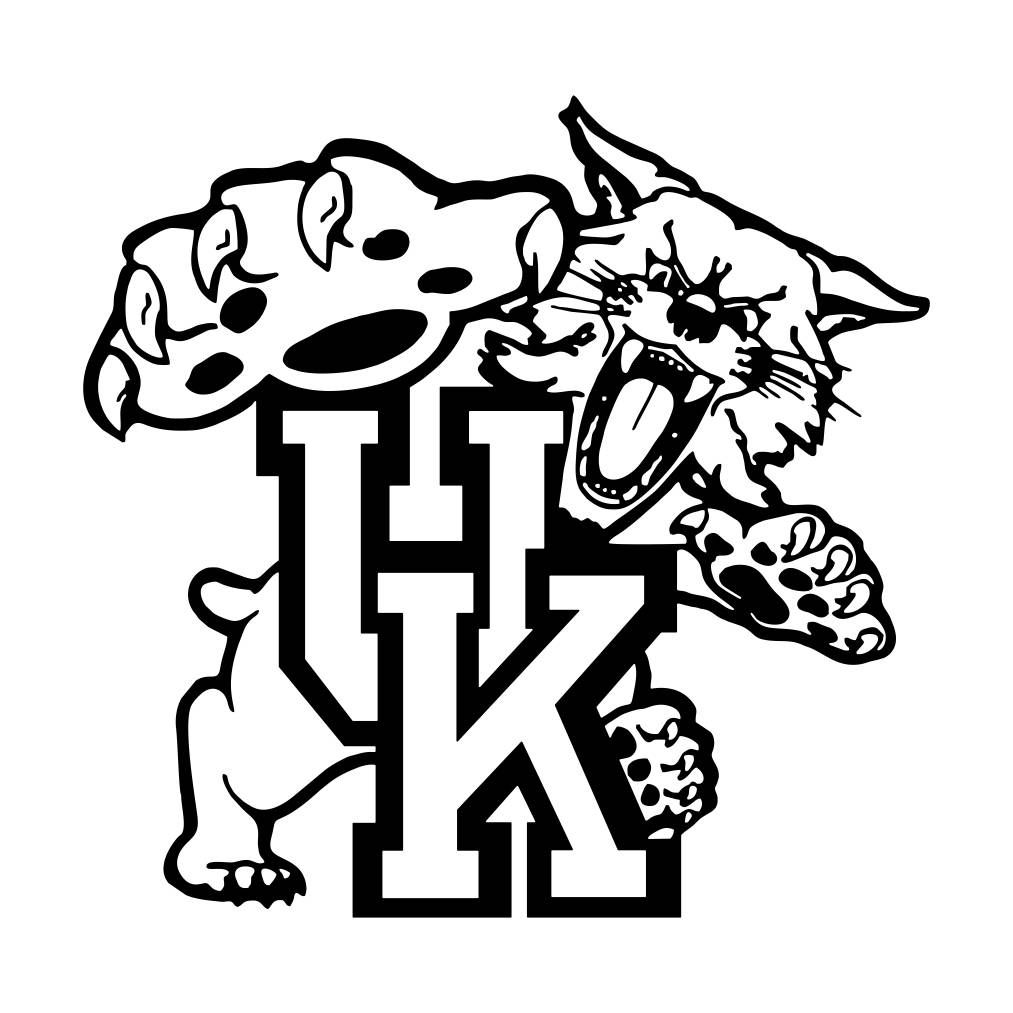 kentucky wildcat logo coloring pages - photo#2