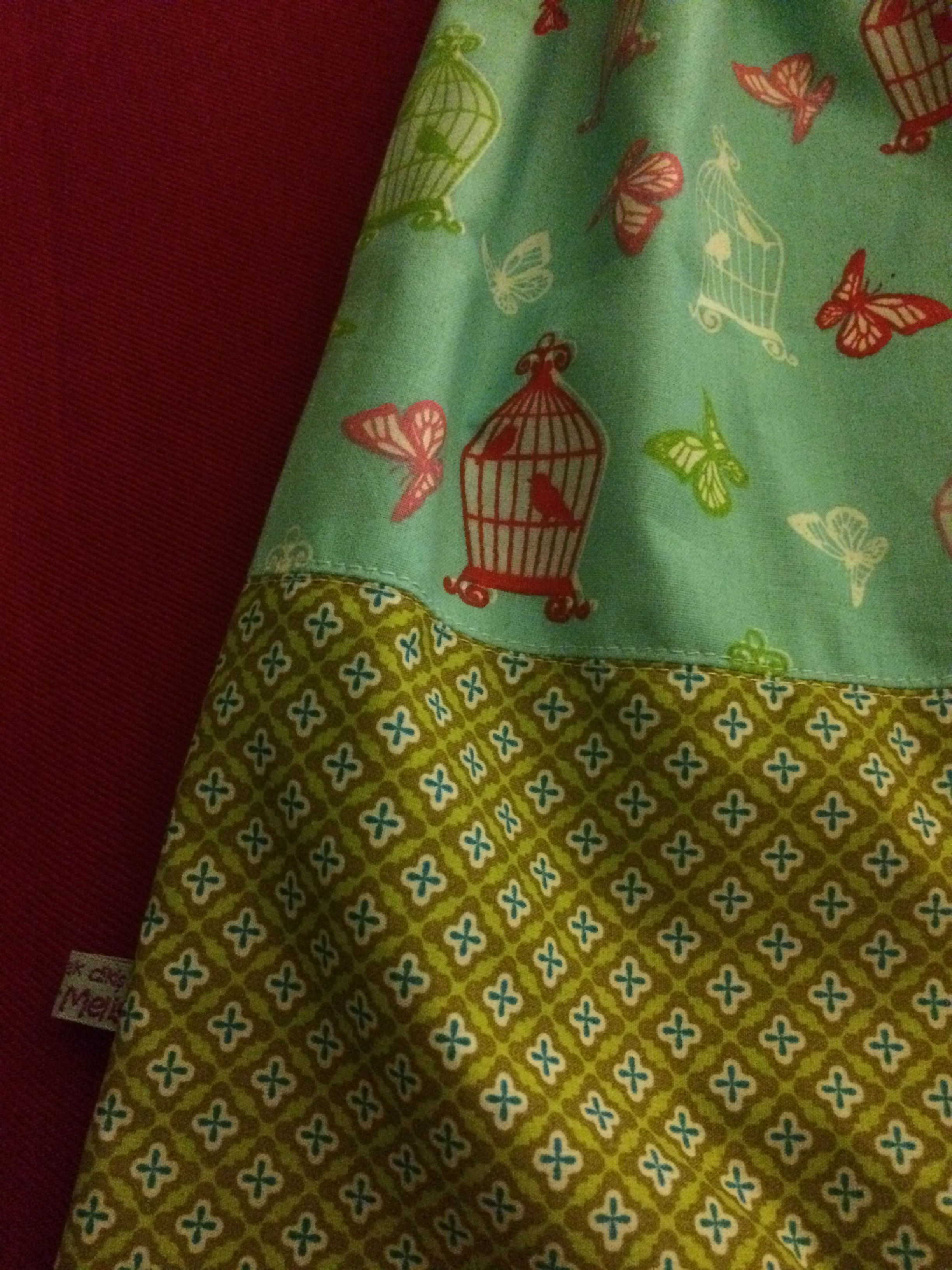 Turnbeutel diy Ellen By KerMelis Beutel Tasche  Hamburger Liebe Fabric